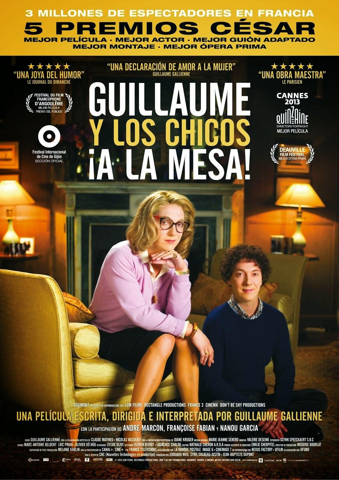 Guillaume_y_los_chicos_a_la_mesa-Cartel